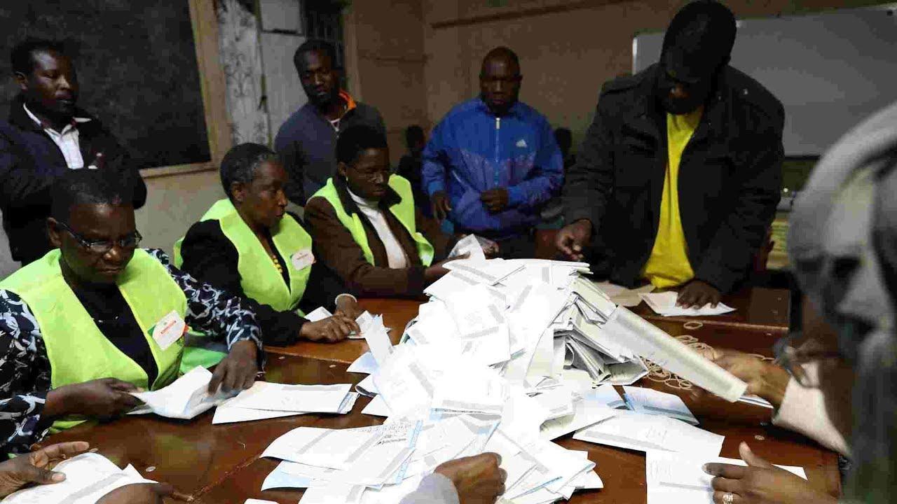 Zimbabwe ruling ZANU PF party wins parliamentary 2018 election.