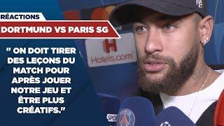 VIDEO: REACTIONS : BORUSSIA DORTMUND vs PARIS SAINT-GERMAIN