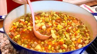 How to Make Hearty Southern Vegetable Soup