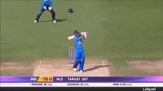 Ajinkya rahane the wall of indian cricket team