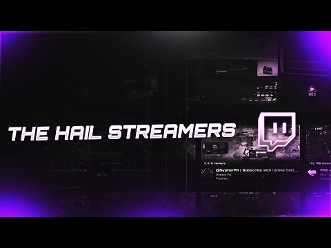 Introducing The Hail Twitch Streamers! Hail Alliances New Streamers.