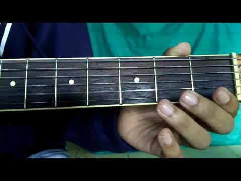 tutorial fingerstyle SAKITNYA TUH DISINI (pemula)