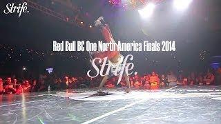 Tata vs Vicous | Red Bull BC ONE North America 2014 | Strife.TV