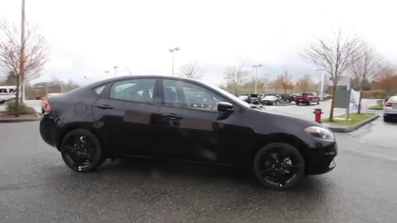Dodge Dart Sxt >> 2014 Dodge Dart SXT   Black   ED776159   Everett ...