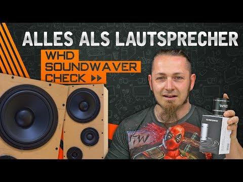 WHD SOUNDWAVER 🔊 Alles zum Lautsprecher verwandeln [Technik, German, Deutsch]
