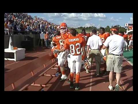 Josh McCown 2001 Sam Houston highlights