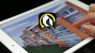 explore BIMx Hyper-models on mobile devices