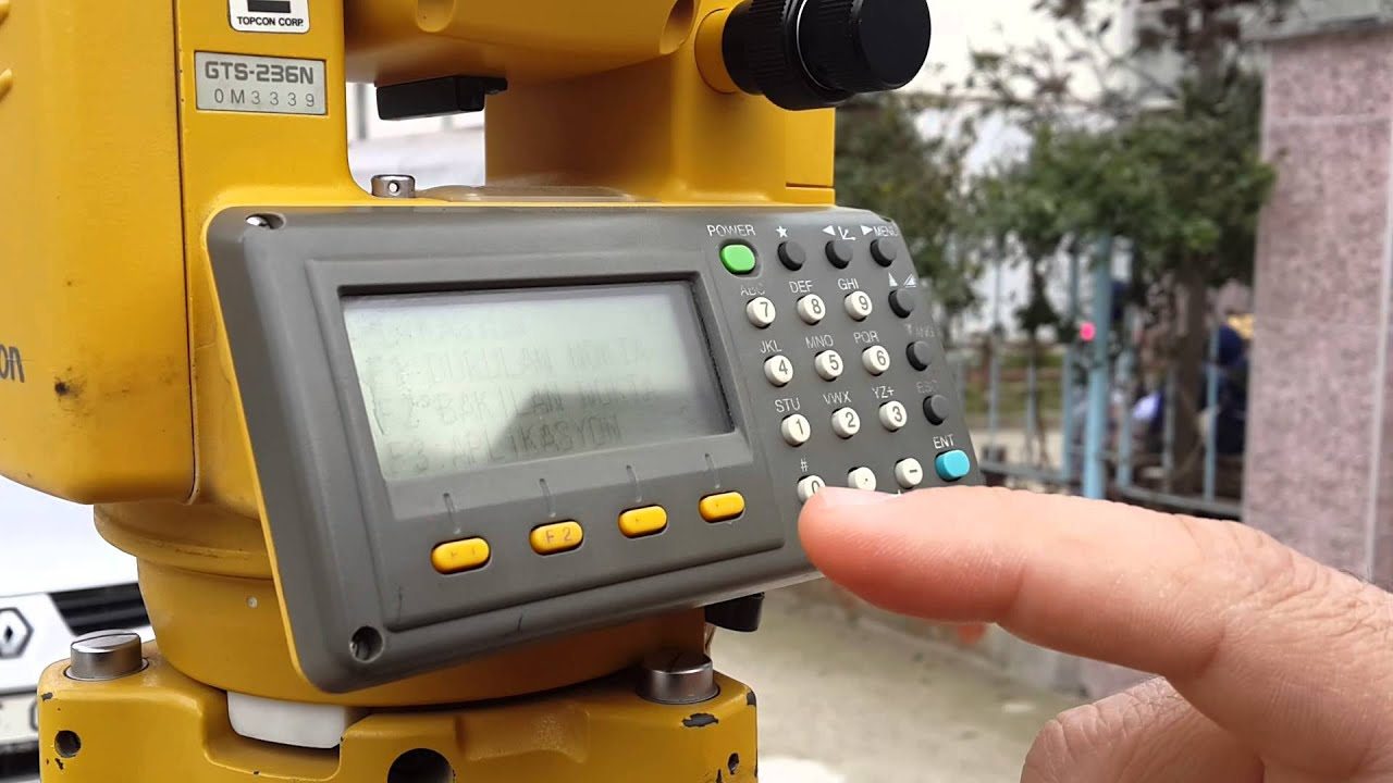 Topcon gts 236n manual