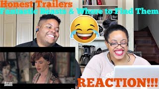 Honest Trailers - Fantastic Beasts & Where to Find Them REACTION!!!