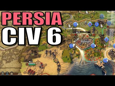 Civ 6 Persia | Surprising Progress | Let's Play Civilization 6 Gameplay [Cyrus Strategy]