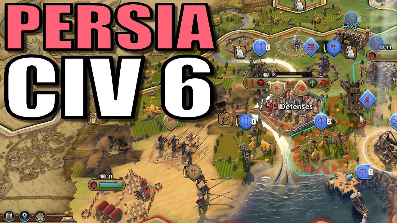 Civilization v persia strategy