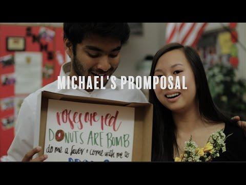Michael's Promposal