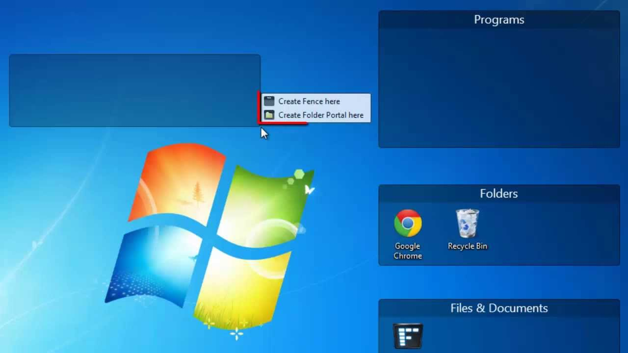How to Organize Windows Desktop Items into Categories with Fences ...