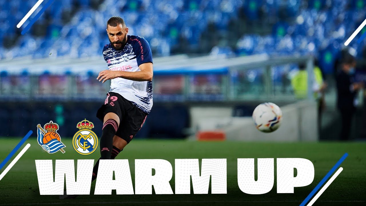 WARM-UP | Real Sociedad 0-0 Real Madrid