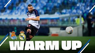 WARM-UP | Real Sociedad - Real Madrid