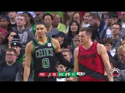 Portland Trail Blazers vs Boston Celtics - Al Horford Buzzer Beater - February 4, 2018
