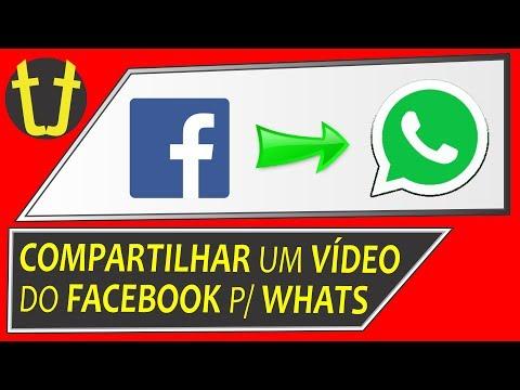 como compartilhar um video do facebook no whatsapp pelo iphone