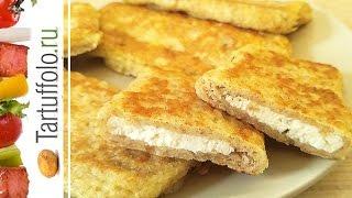 Быстрые пирожки (бутерброды) на сковороде