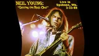 NEIL YOUNG- HEAVY SWEET LOVE IN SPOKANE 2-23-89