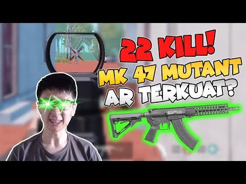 MK47 Senjata Overpower?? - PUBG Mobile Indonesia