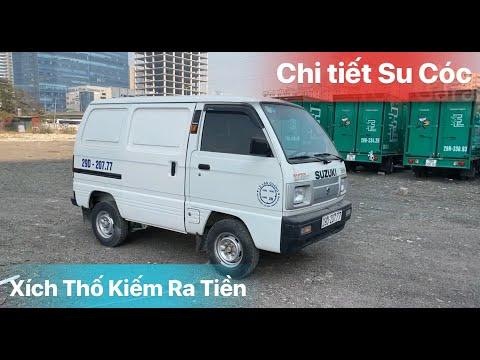 Đánh giá 'Su cóc Xích Thố'  Suzuki Blind Van lạ kỳ sản xuất 2017