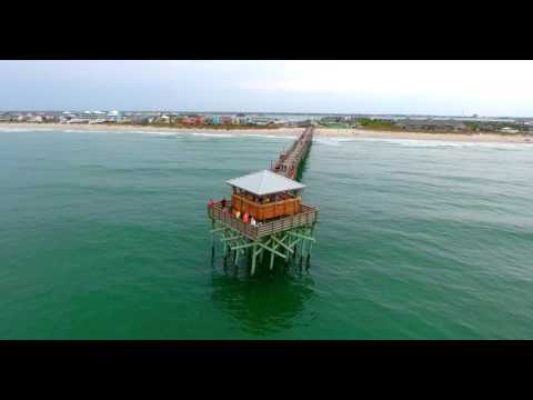 Atlantic Beach NC Aerial Video