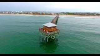 Atlantic Beach NC Aerial Video