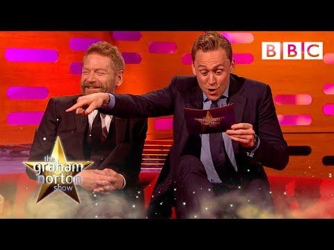 Tom Hiddleston's Graham Norton impression - The Graham Norton Show: Episode 2 - BBC One