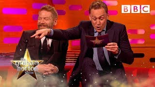 Tom Hiddleston's Graham Norton impression - The Graham Norton Show: Episode 2 - BBC One