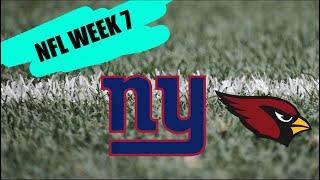 Arizona Cardinals vs New York Giants