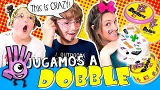 ¡¡Jugamos a DOBBLE 💥 y el que pierde... ¡¡RETOS super LOCOS!! 😱 ✌🏼 JUEGOS DE MESA en español thumbnail