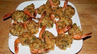 Spicy Jumbo Stuffed shrimp - Shrimp recipe