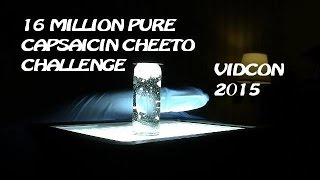 16 Million Scoville Pure Capsaicin Cheeto Challenge ***DO NOT ATTEMPT***