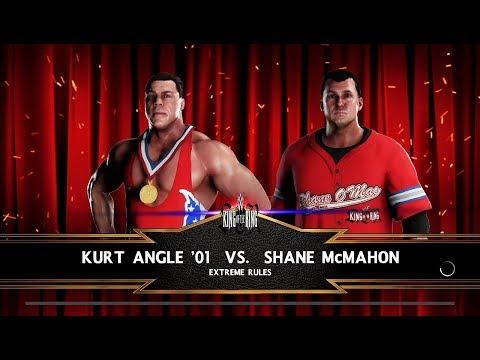 WWE 2K18 (PS4) Shane McMahon vs Kurt Angle King of The Ring 2001