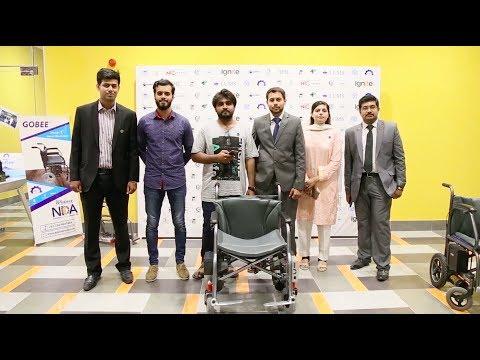 GOBEE Kursi Roda Listrik Pintar Pertama Buatan Pelajar Pakistan