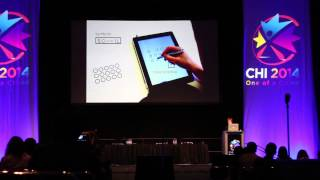 Palm Rejection Talk at CHI 2014