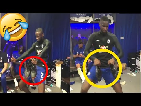 Chelsea star Antonio Rudiger shows off dance moves after FA Cup final win 🏆