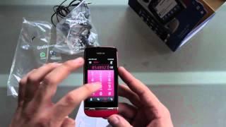Unboxing Nokia Asha 311