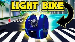 BUYING THE NEW $5,000,000 LIGHT BIKE! (ROBLOX Mad City)