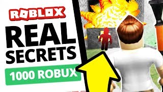The TRUE SECRETS of Roblox Are in This Game?!