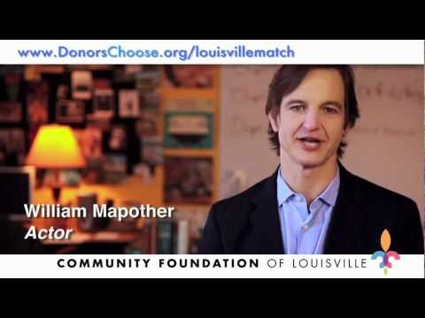 William Mapother DonorsChoose.org