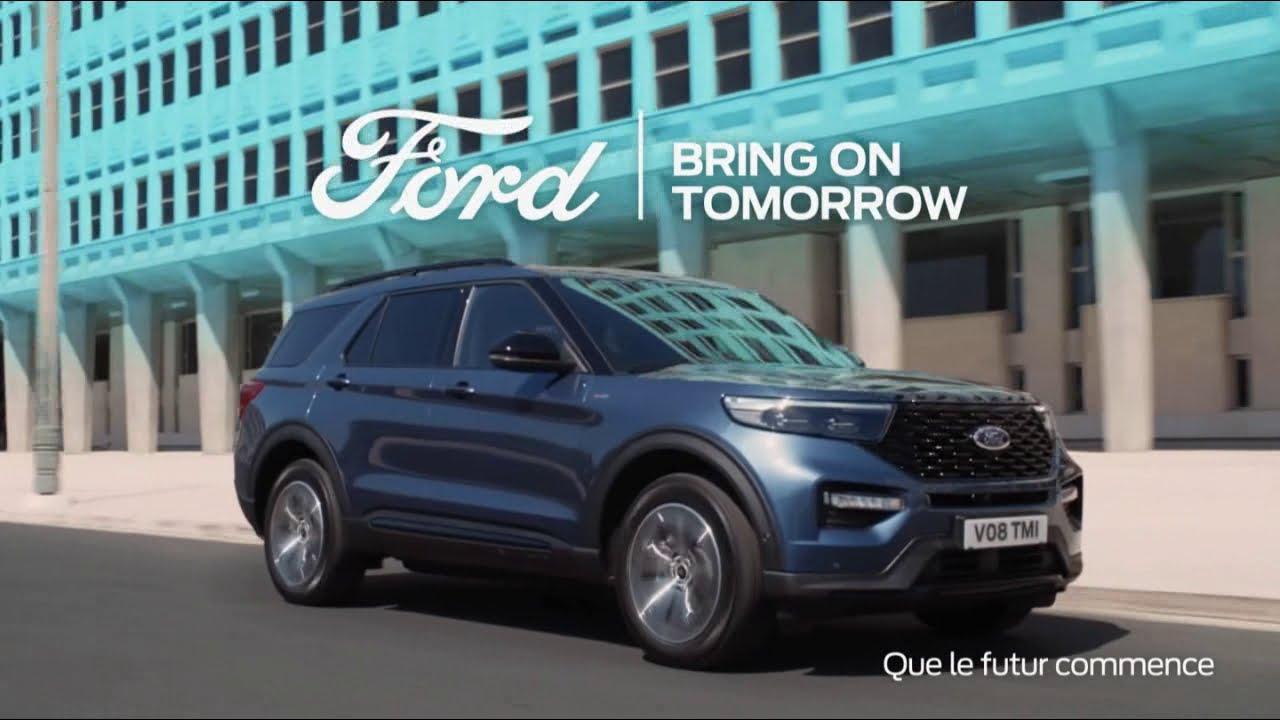 """Musique de la pub Ford Explorer Hybride rechargeable """"bring on tomorrow""""  Mai 2021"""