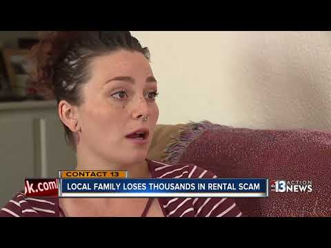 Local Family Loses Thousands In Rental Scam