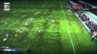 Rugby League Live 3 Online Match - Gameplay - Bulldogs vs Warriors - (PS4/XB1) Top 10 Video