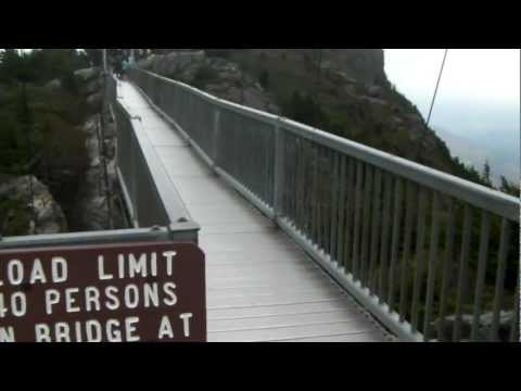 4th Grade, Coleridge Elementary School -  visits Grandfather Mountain, Mile-High Swinging Bridge