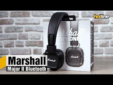 Marshall Major II Bluetooth — обзор беспроводной модификации стильных наушников