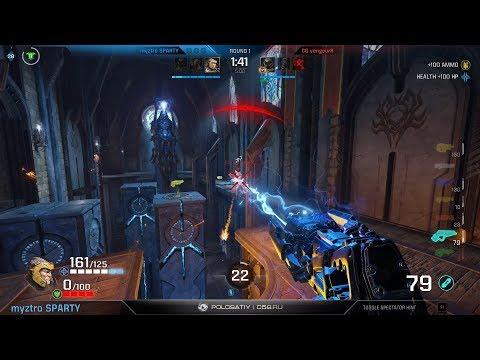 CG.VengeurR vs. Spart1e (Quake Open League, Group F) – Quake Champions