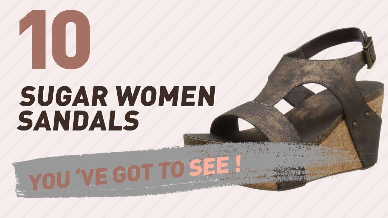 d16e7857f18cc1 Sugar Women Sandals    New   Popular 2017 - YouTube