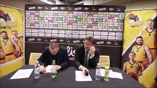 BC Nokia vs KTP Basket Lehdistötilaisuus 16 3 2019