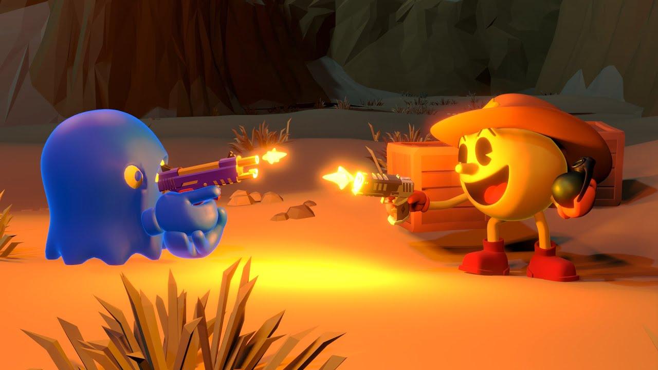 Pacman In Wild West (Level:50)
